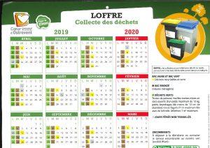 calendrier des déchets Loffre_Page_1