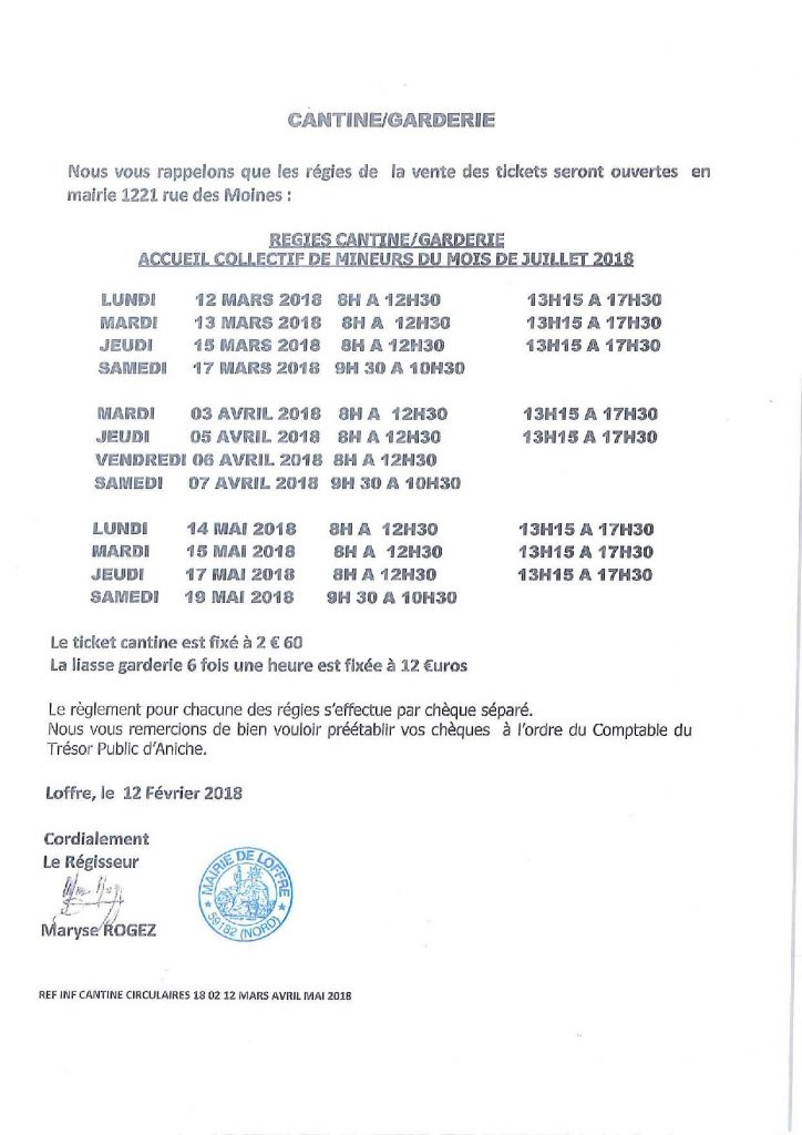 CIR 18 02 13 CANTINE MAR AVRIL MAI 2018