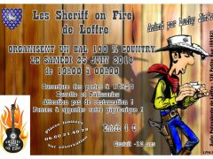 SHERIFF ON FIRE BAL 23 JUIN 18