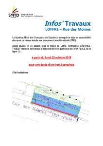 Info'Travaux arrêt PLACE - ligne 12 - rue des moines LOFFRE_Page_1