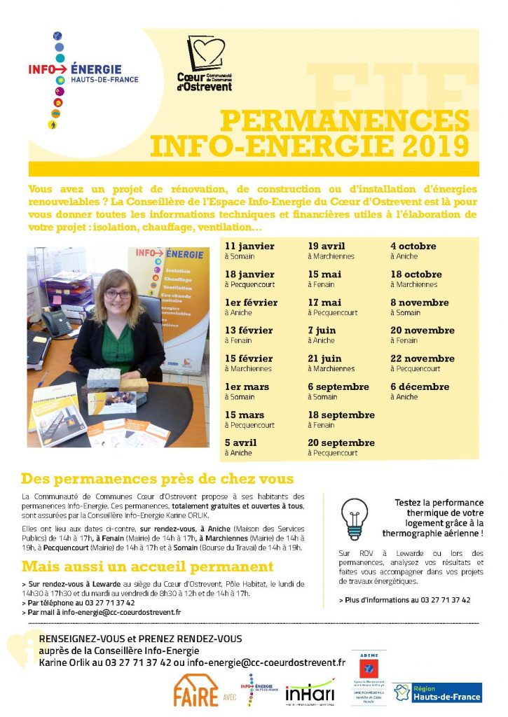 Permanences EIE 2019